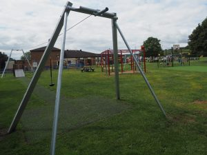 A swing on the park